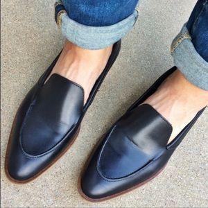 Everlane Modern Loafers Leather Black Size 8
